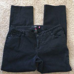 Torrid Denim Black Slim Bootcut Jeans Sz 20R